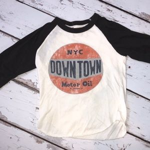TAILGATE BOYS NYC DOWNTOWN RAGLAN 3/4 Sleeve
